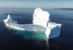 ijsberg in ferryland