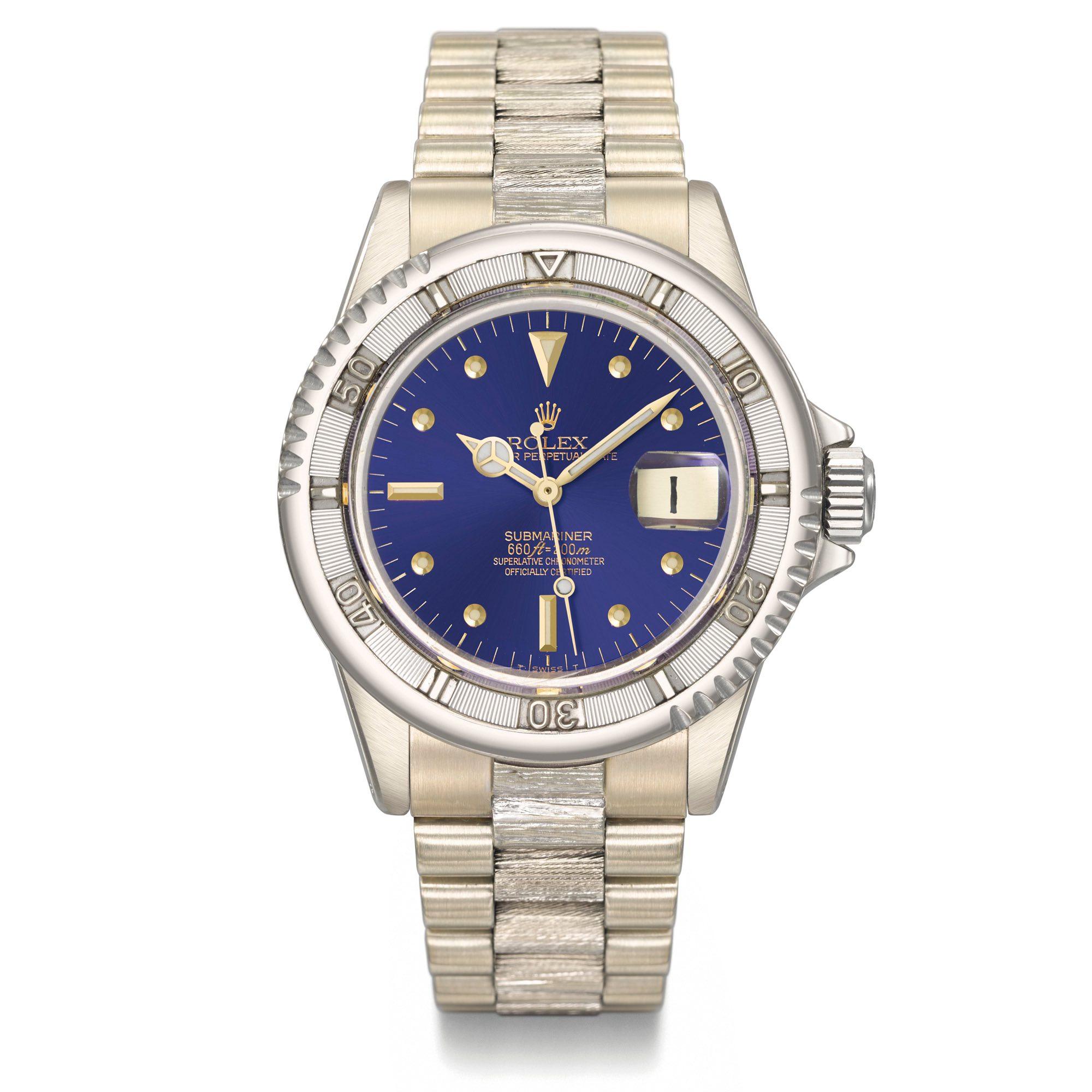 christies submariner - Top 10 Duurste Rolex Horloges ter Wereld