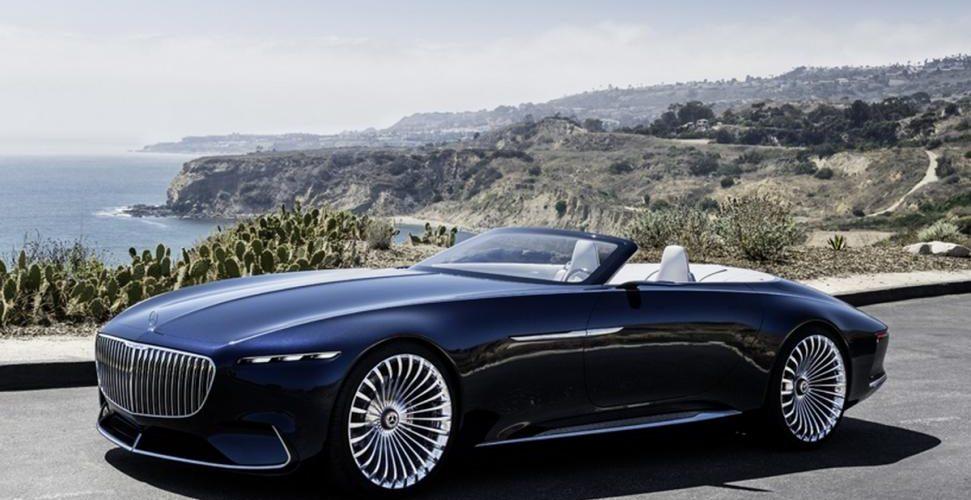 De Elektrische Vision Mercedes Maybach 6 Cabriolet Heeft Het