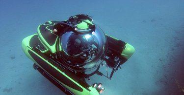 persoonlijke onderzeeër in Sicilië