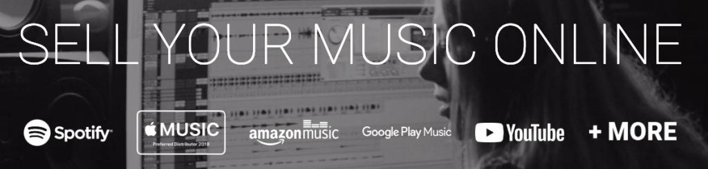 muziek verkopen