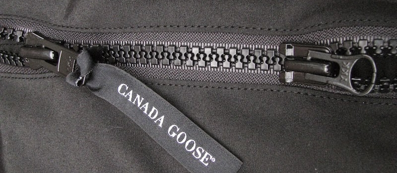 canada goose jas rits