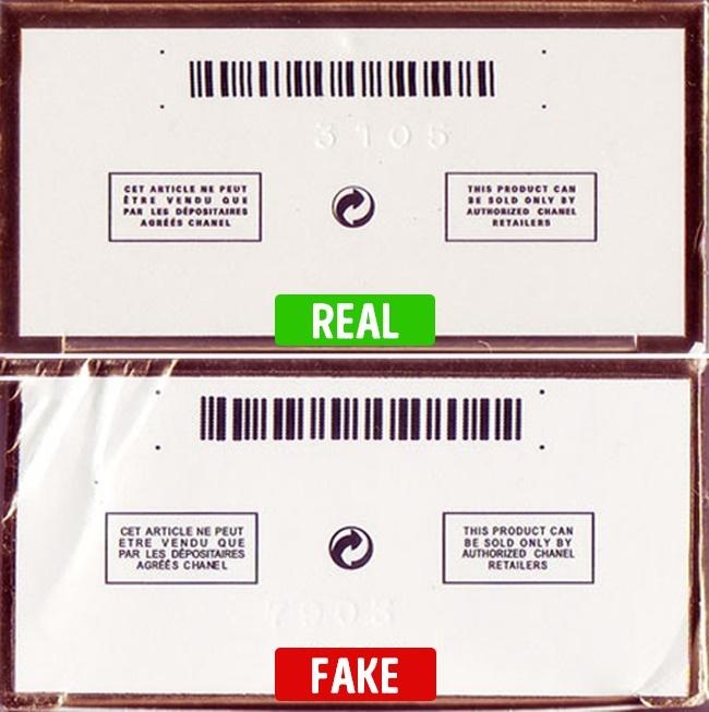 echt en nep parfum barcode check