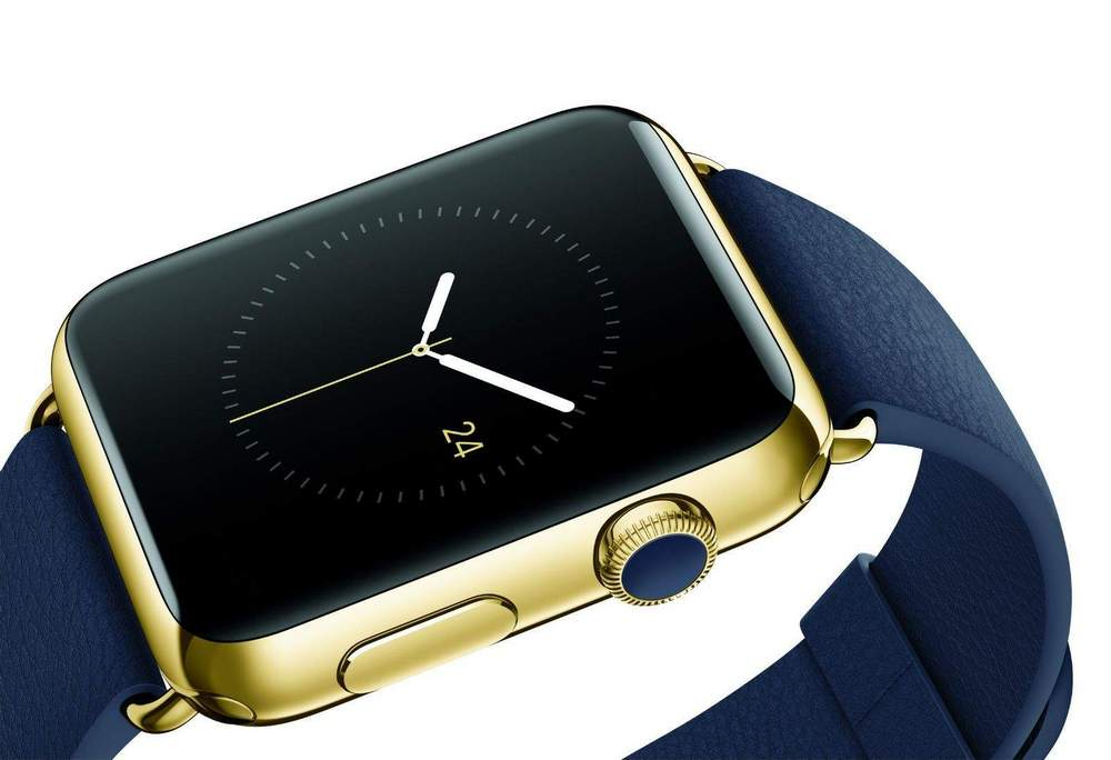Gold-Apple-Watch smartwatch