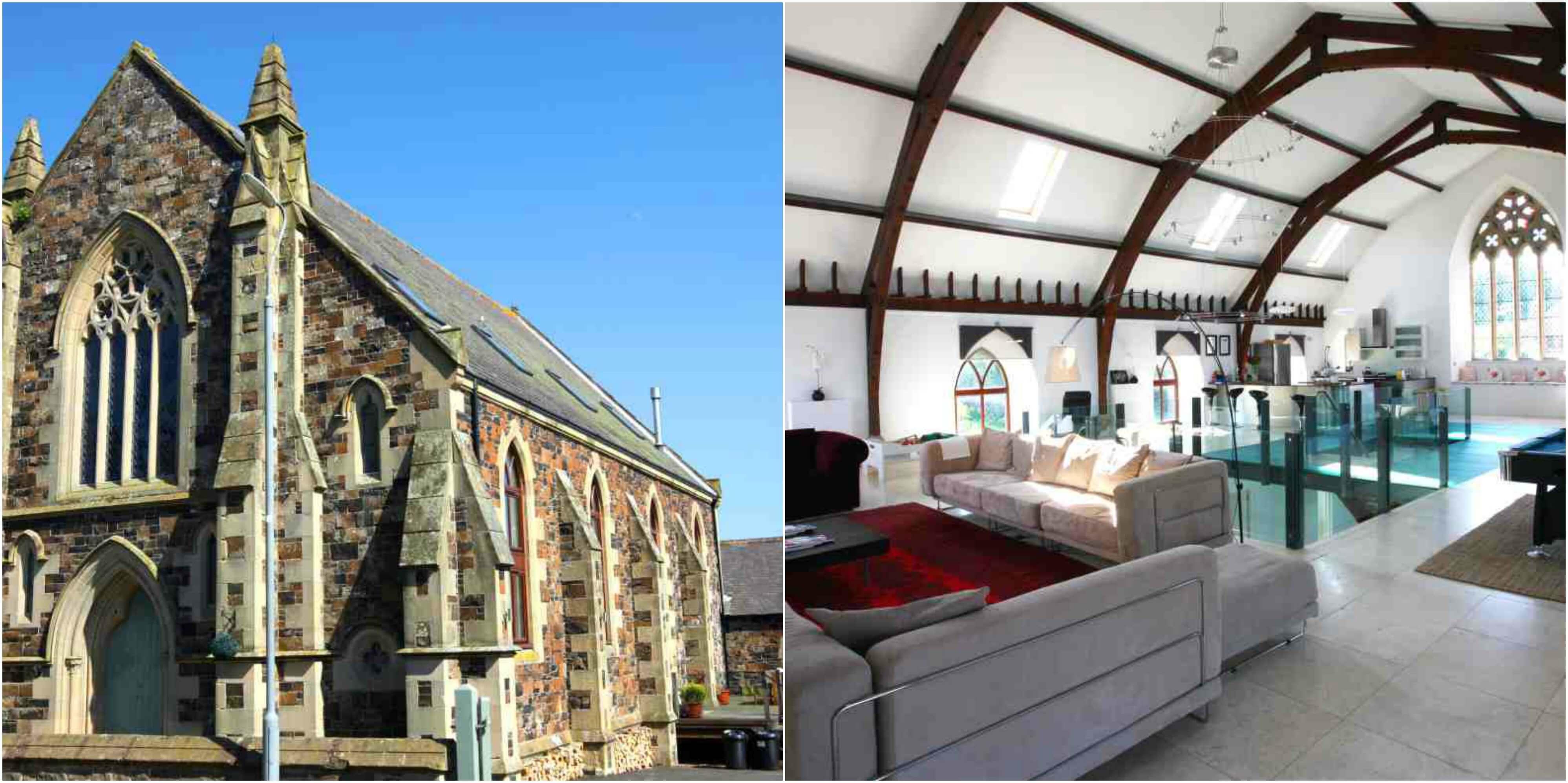 Kerk in Kelso, Schotland