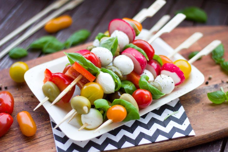 bbq groenten