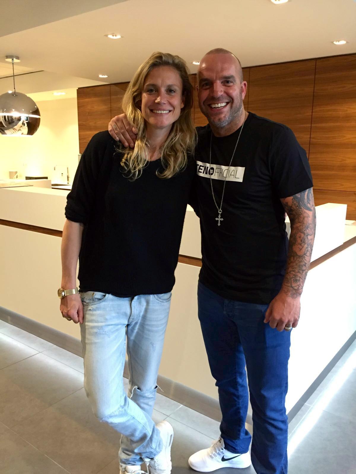 Andy van der Meijden bij Hairplus mc