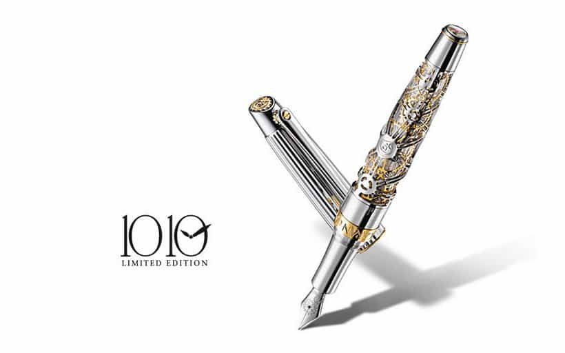 Caran-d'Ache-1010-Gold-Limited-Edition-duurste-pen