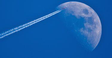 reis naar de maan