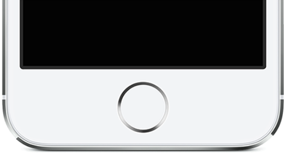 iphone home knop