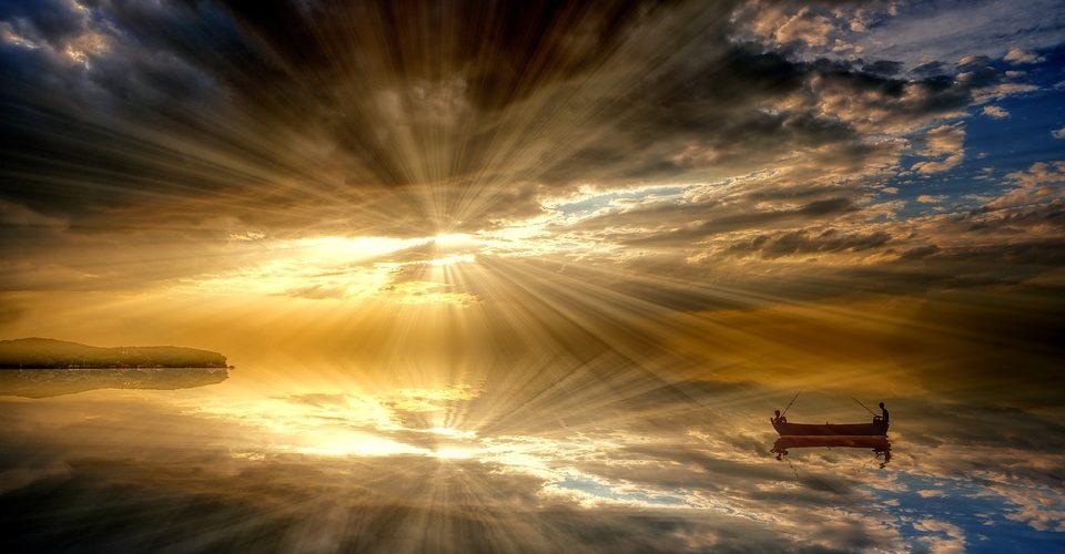 zonlicht wolken