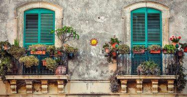 inrichting balkon