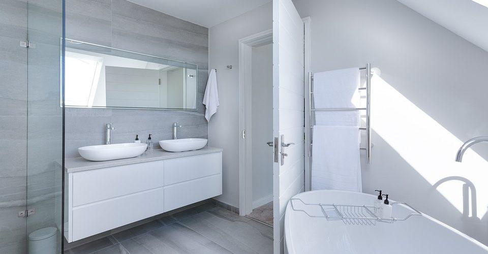 ruimte creëren badkamer