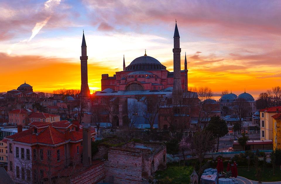 turkije zonsondergang