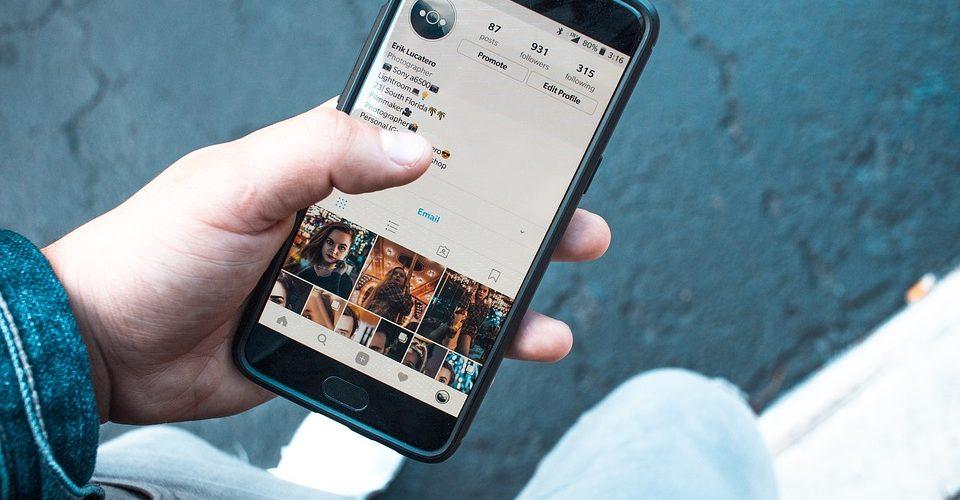 telefoon instagram