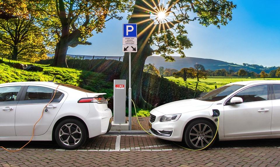 elektrische autos opladen