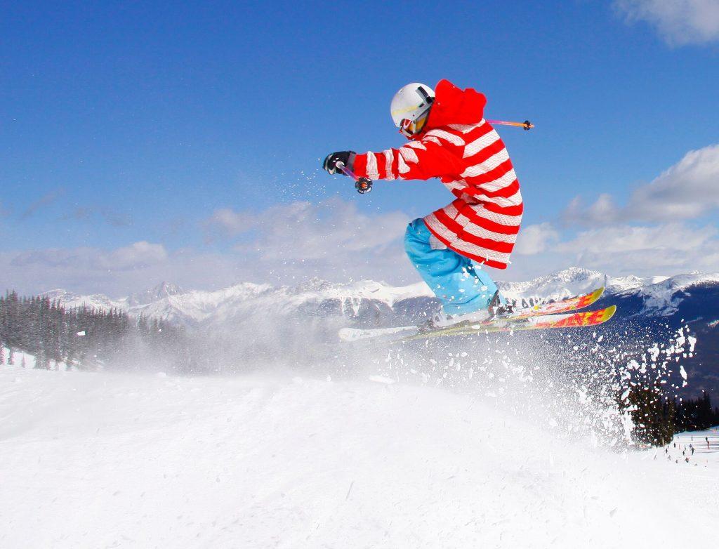 ski springen