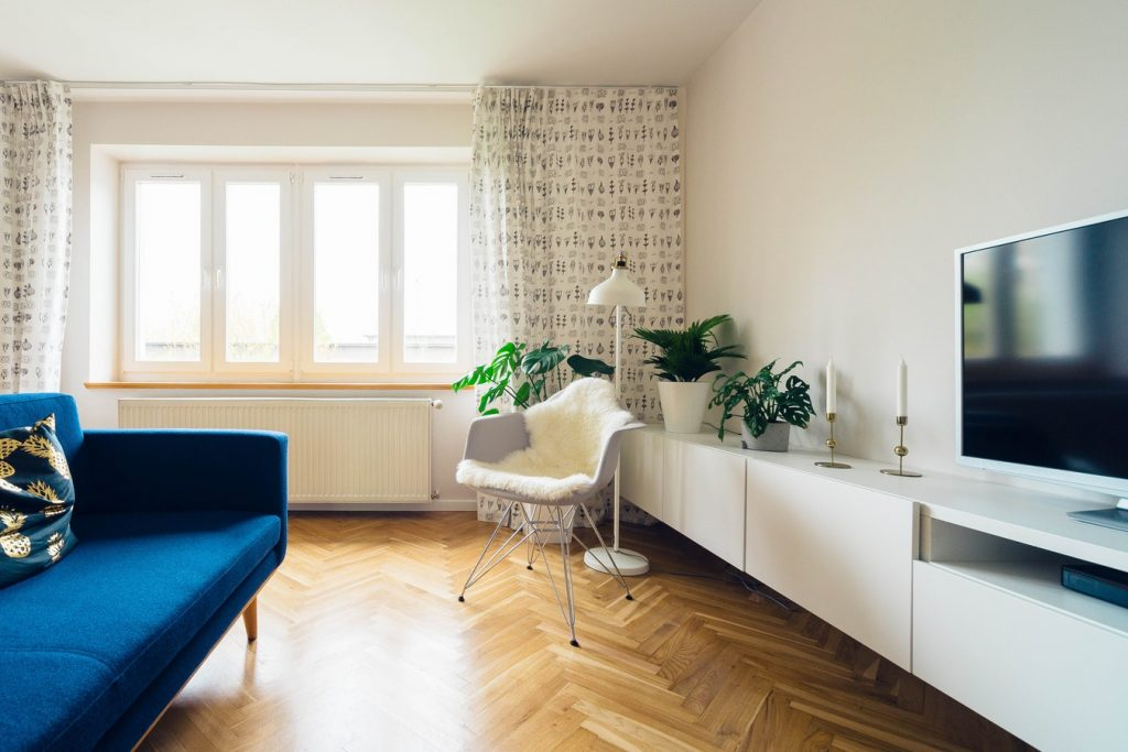 zonlicht woonkamer