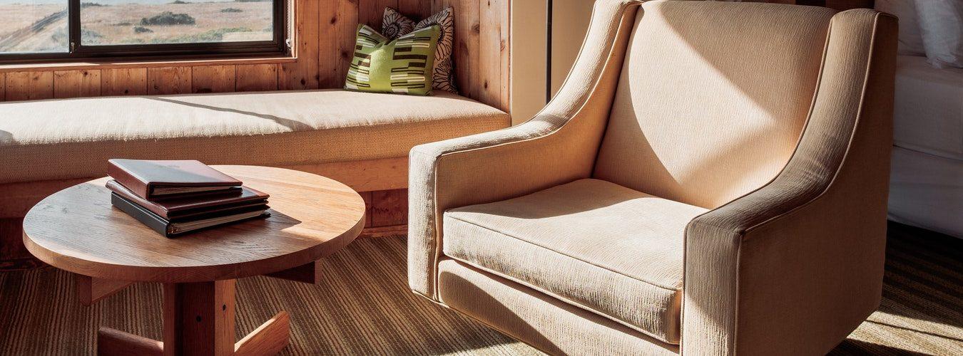 natuurlijke woonkamer stijl