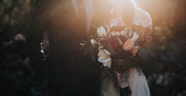 bruiloft paar