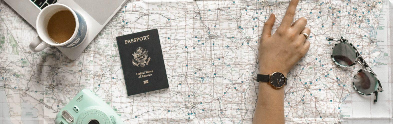 reiskaart