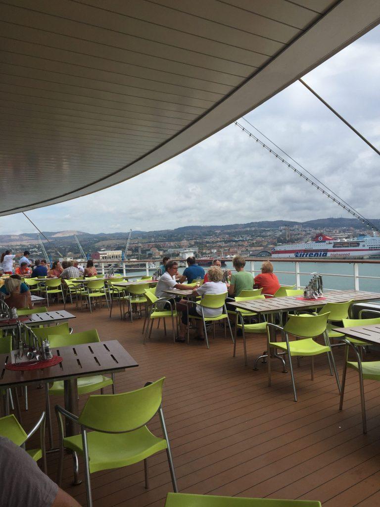 cruise vakantie eten