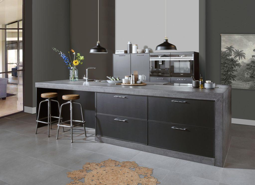 zwarte keuken inrichting