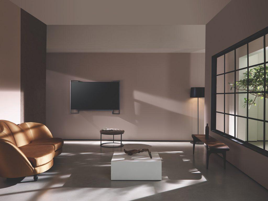 bruine tinten woonkamer