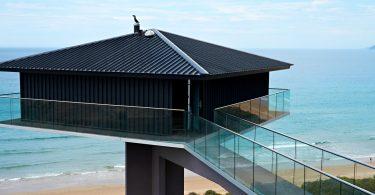 glazen-balustrade gebouw