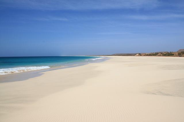 kaapverdie strand