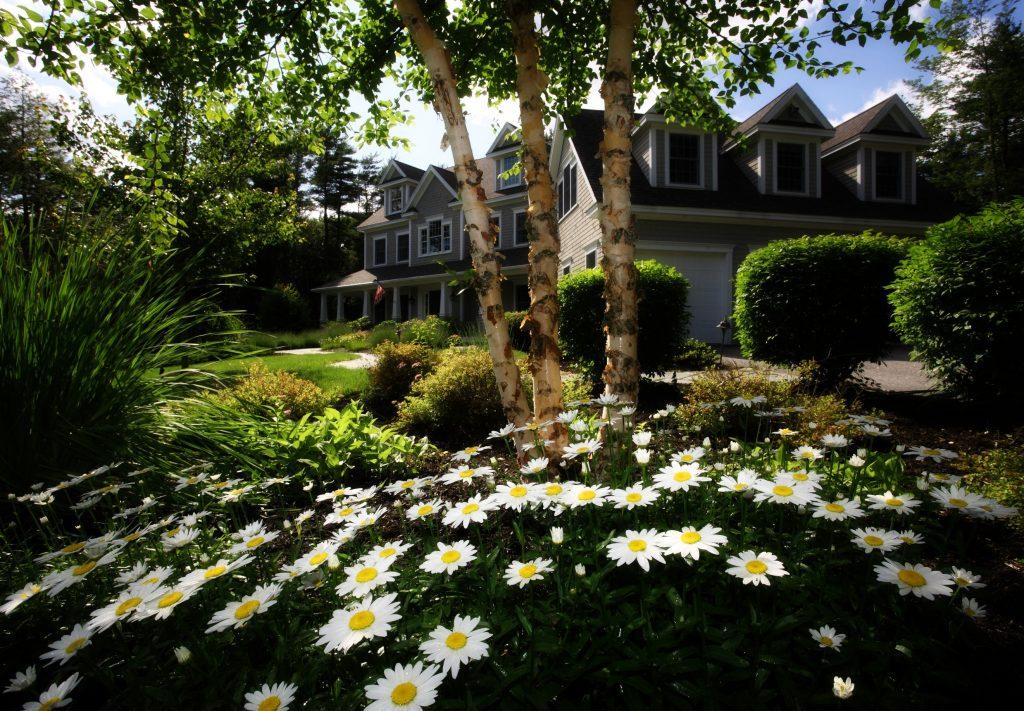 villa met tuin
