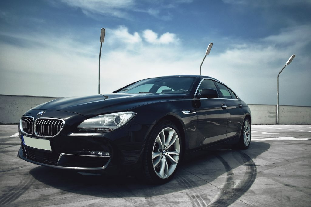 BMW zwart