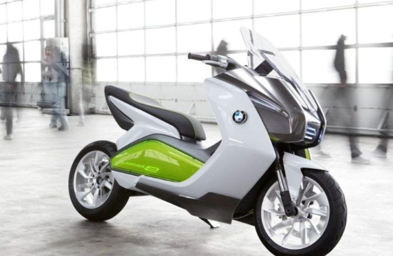 elektrische scooter bmw