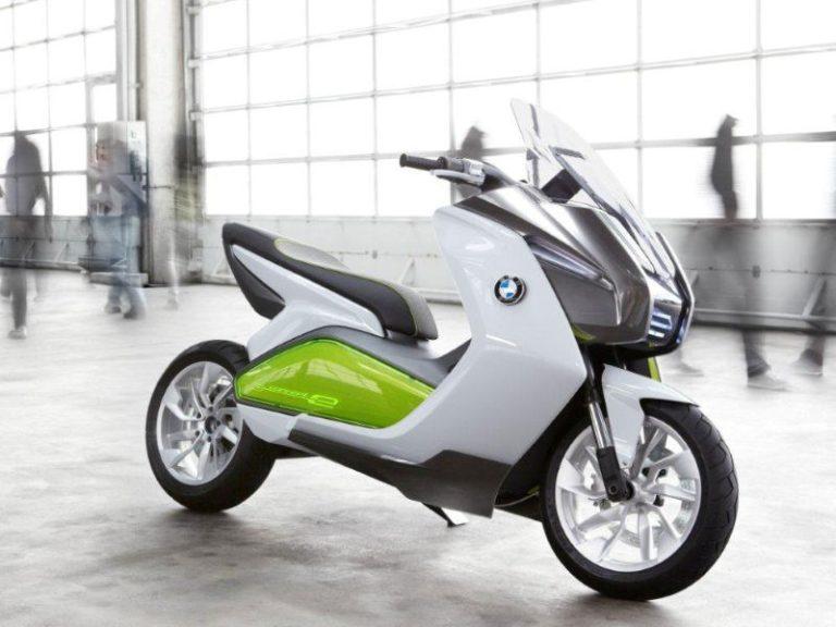 elektrische scooter bmw