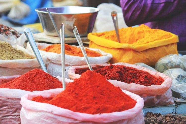 kleur poeders india