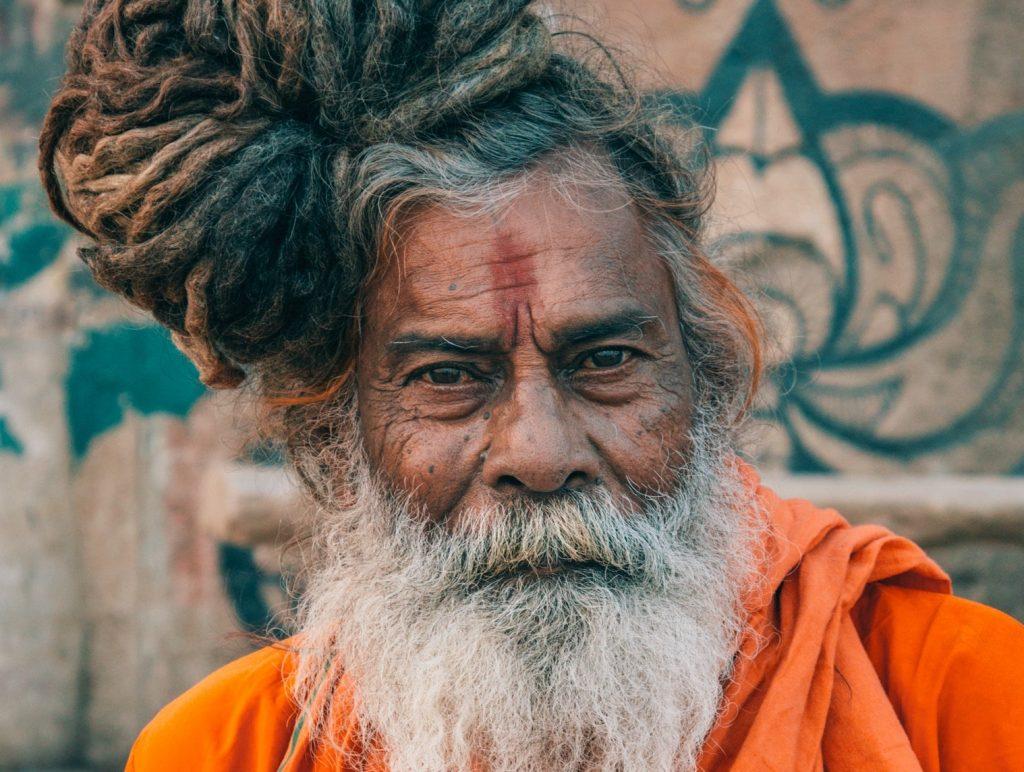 man uit india