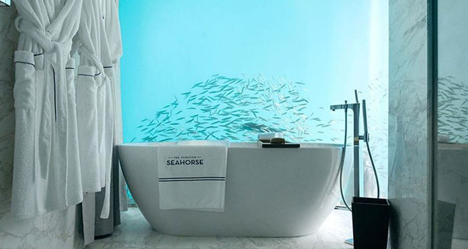 onder water badkamer