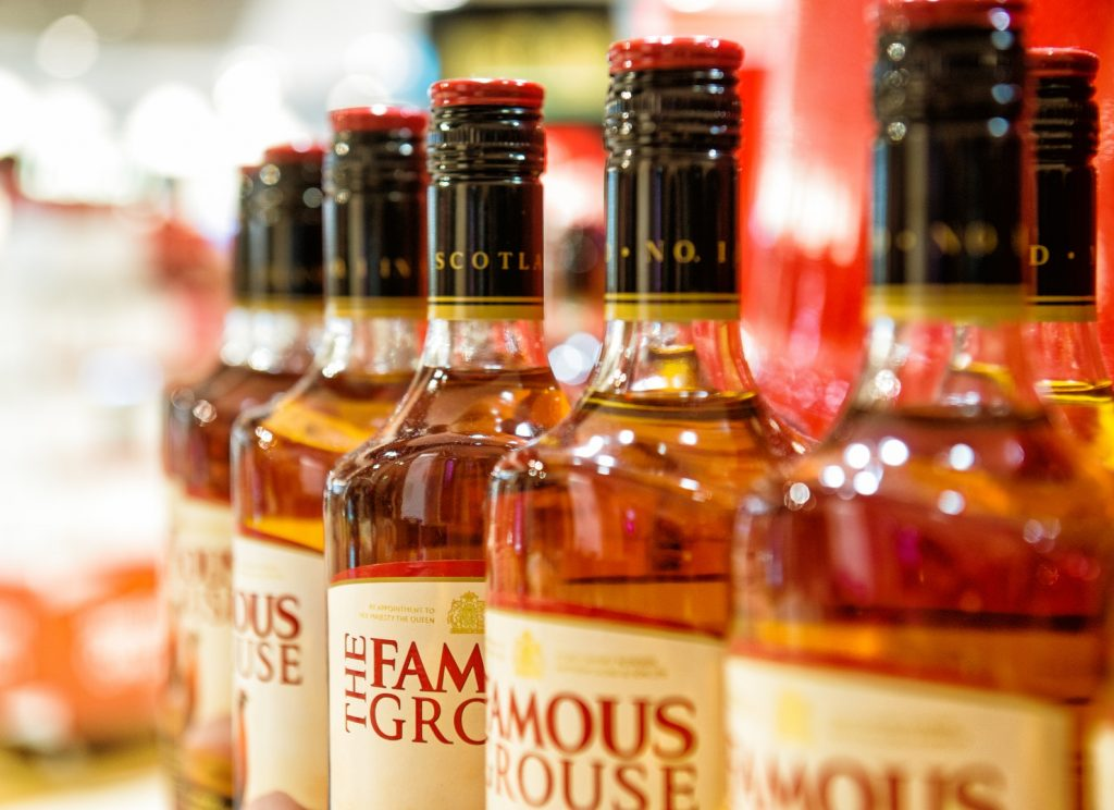 whisky flessen