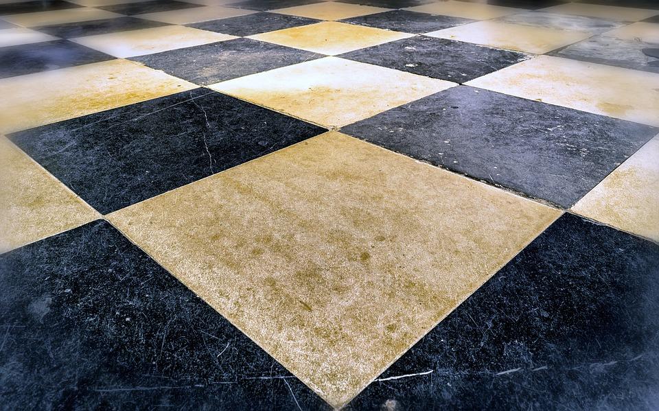 stenen vloer tegel ruiten