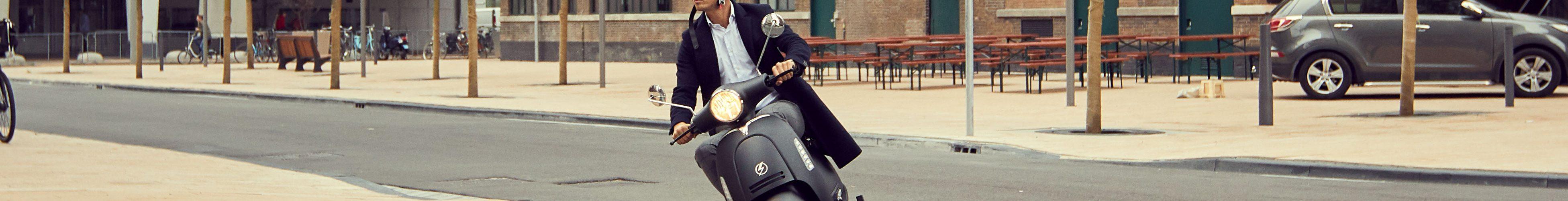 elektrische scooter stad