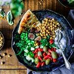 gezonde-salade-pitabrood