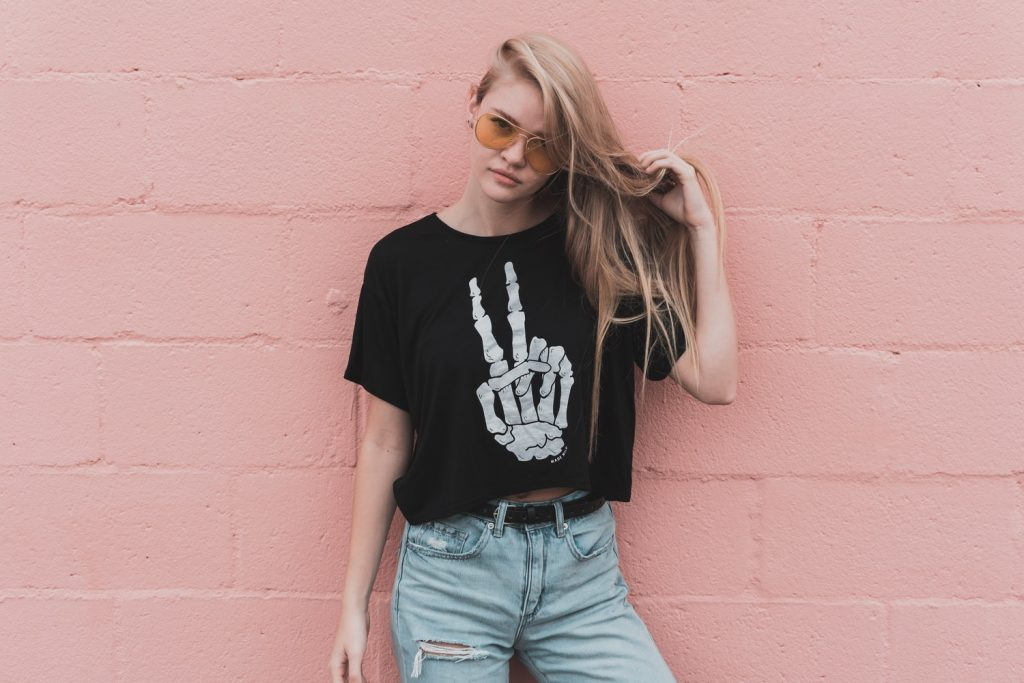 meisje-tshirt
