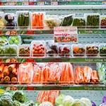 supermarkt groente
