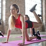 vrouwen workout