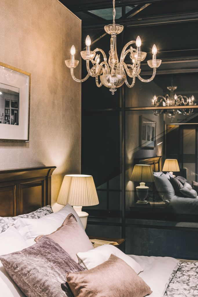 kroonluchter-slaapkamer