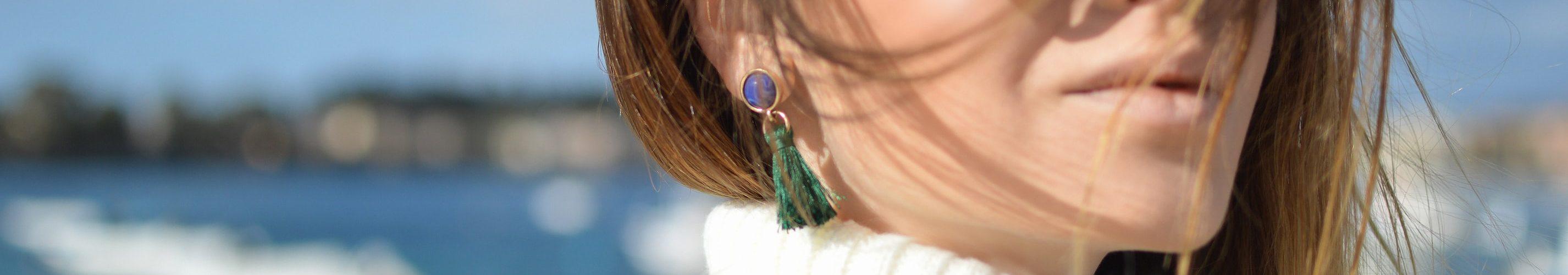 oorbellen-groen