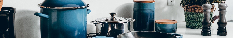 blauw-keukenapparatuur