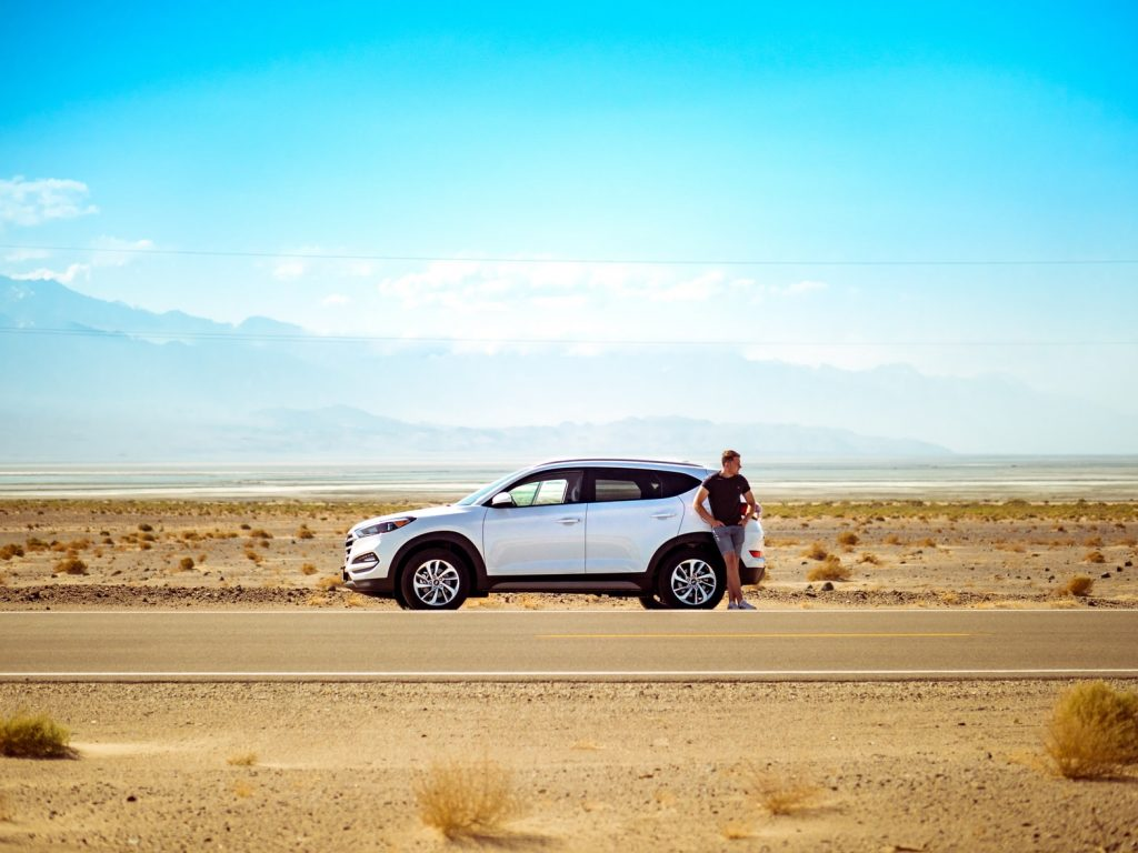 auto-woestijn