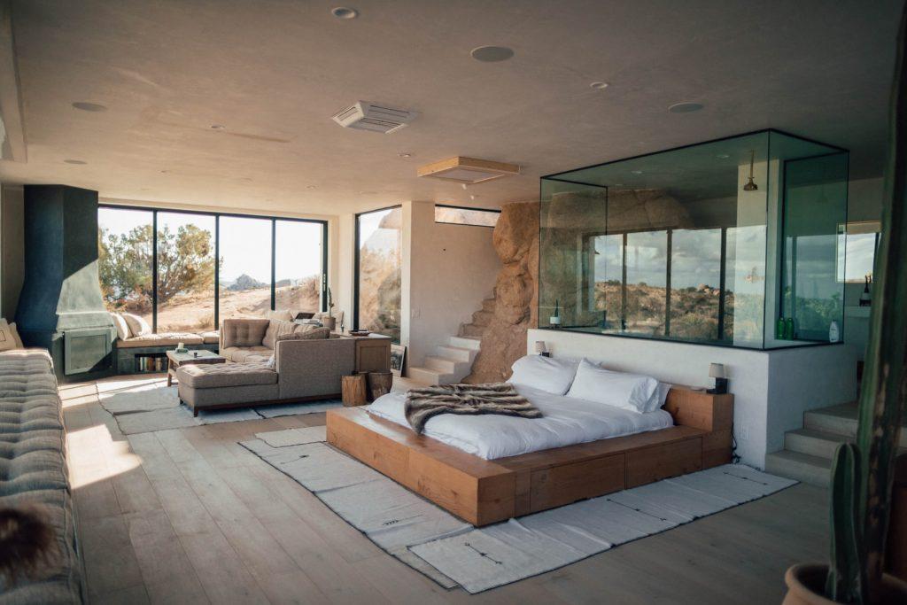 moderne-slaapkamer-hout
