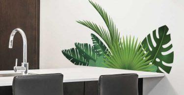 muursticker-plant